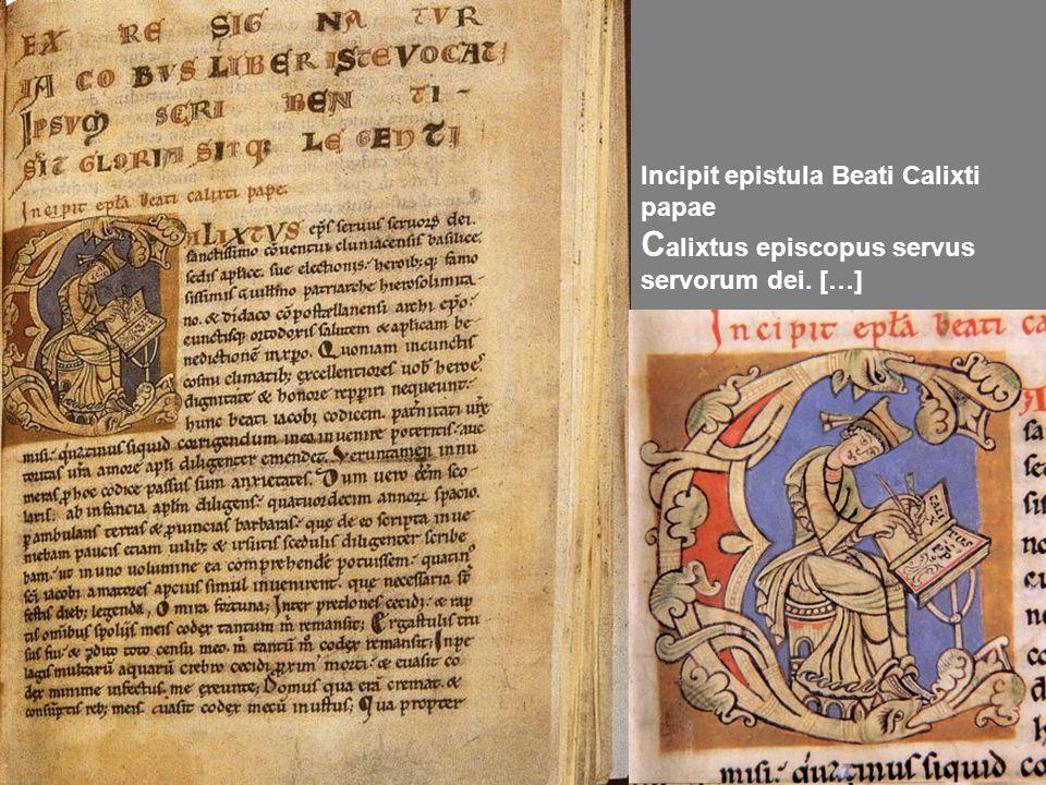 Calixtus episcopus servus servorum dei. […]